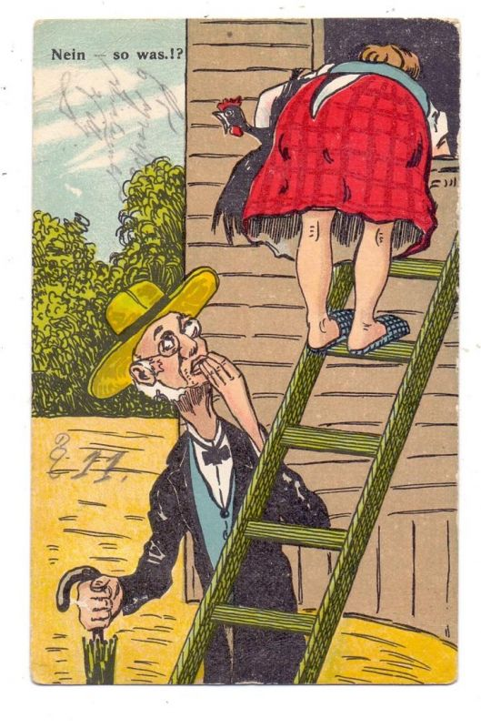LANDWIRTSCHAFT - Erotischer Humor, 1912, höchstrichterlich freigegeben.