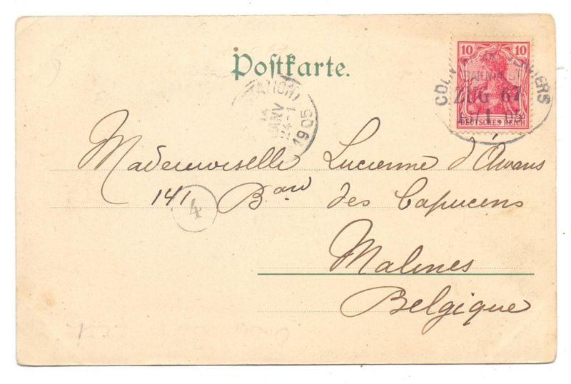 5000 Köln Partie Am Heinzelmännchen Brunnen Antiquitäten Job 1905