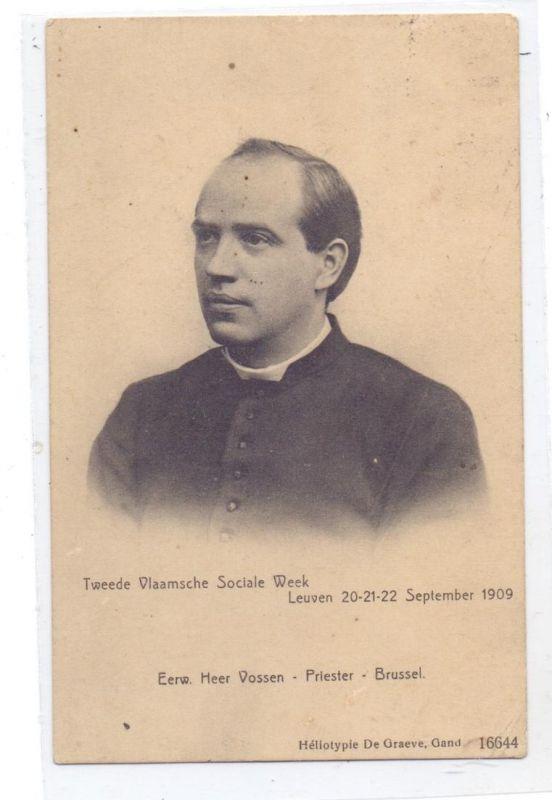 B 3000 LEUVEN, Tweede Vlaamsche Sociale Week, 1909