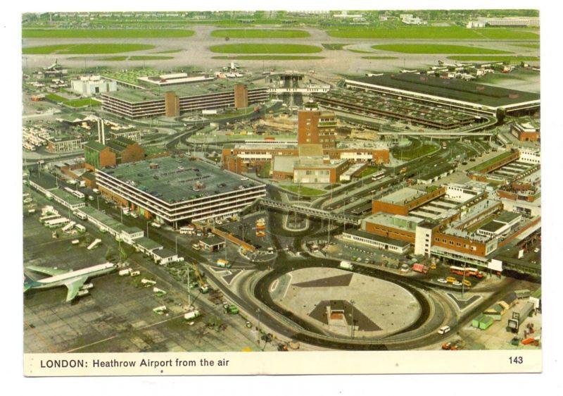 FLUGHAFEN / AIRPORT - London Heathrow from the air