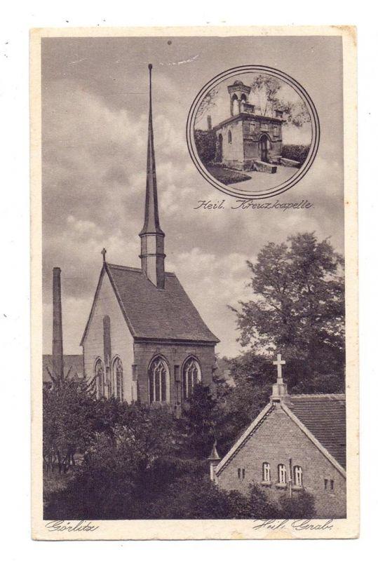 0-8900 GÖRLITZ, Heiliges Grab, Heilige Kreuzkapelle, leicht berieben