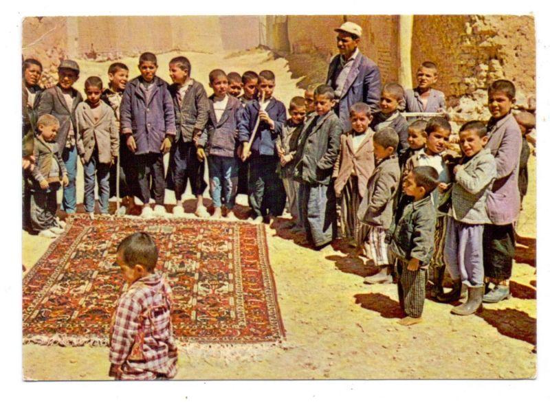IRAN / PERSIEN - Tschale Shotor, Kinderarbeit, Teppichknüpfen
