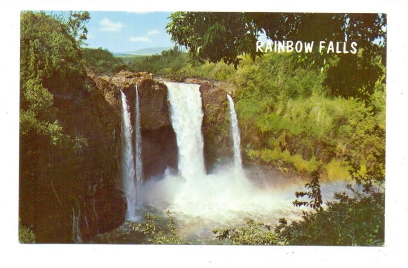 USA - HAWAII - BIG ISLAND, Hilo, Rainbow Falls