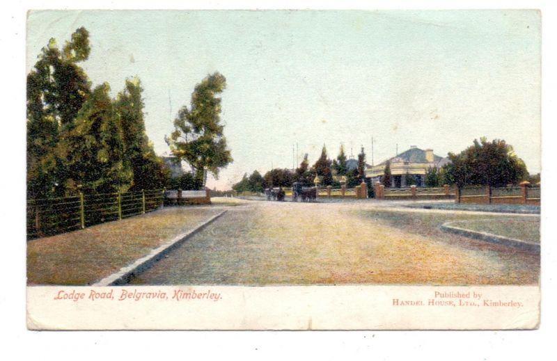 SOUTH AFRICA - KIMBERLEY, Lodge Road, Belgravia, 1911