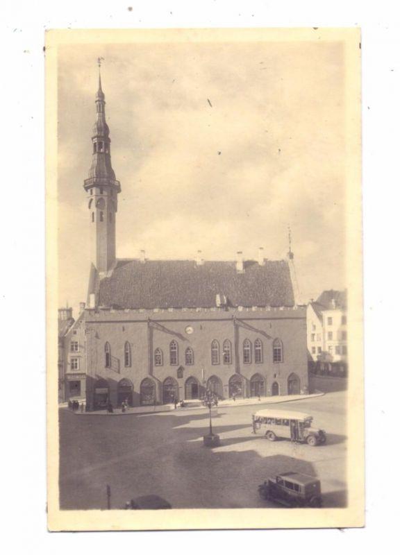 EESTI - TALLINN, RAEKODA / Rathaus, rücks. kl. Klebereste