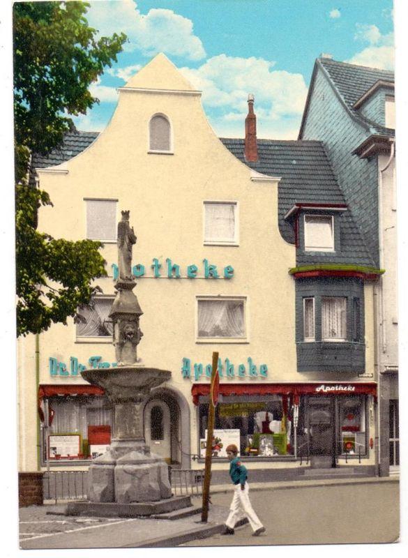 5480 REMAGEN, Marienbrunnen und Apotheke 0