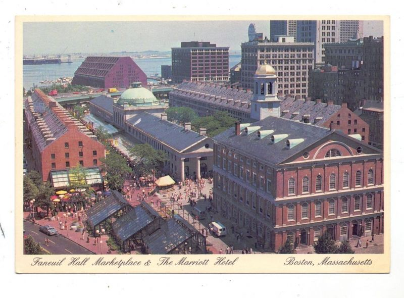 USA - MASSACHUSETTS - BOSTON, Faneuil Hall Marketplace & Marriott Hotel 0