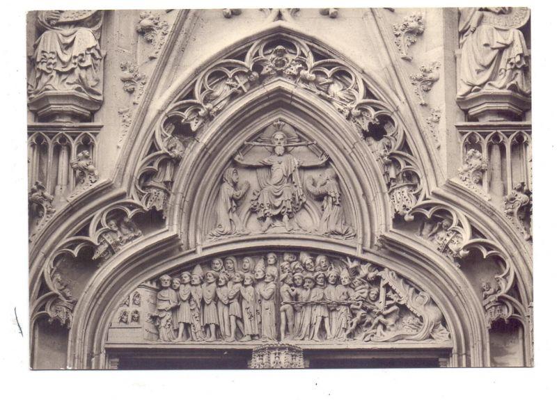 7300 ESSLINGEN, Frauenkirche, Weltgerichtsportal 0
