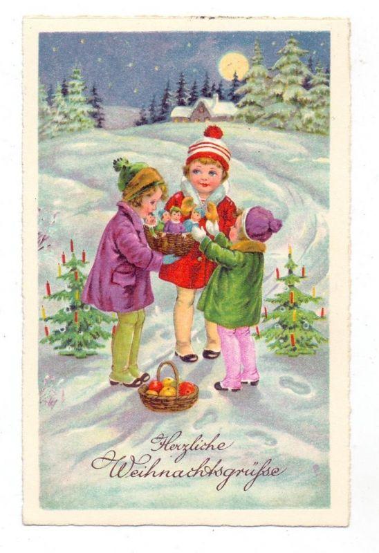 KINDER - Kinder mit Weihnachtsgeschenken, 1933 0