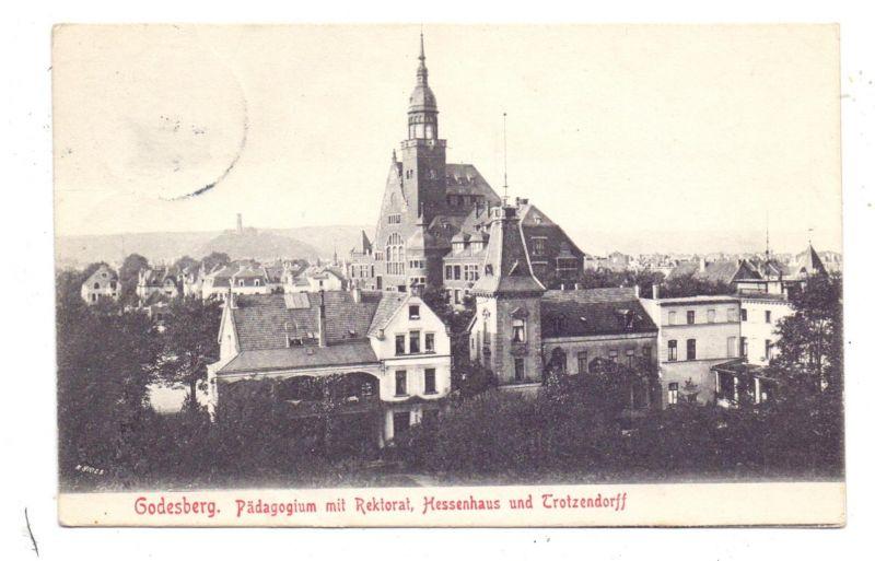5300 BONN - BAD GODESBERG, Pädagogium, Rektorat, Trotzendorff, Hessenhaus / Studentica 0