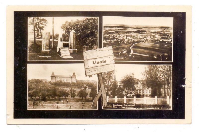 NL - LIMBURG - VAALS - Drielandenpunt, Bloemendaal, Stz. Benedictsberg, Panorama, 1950