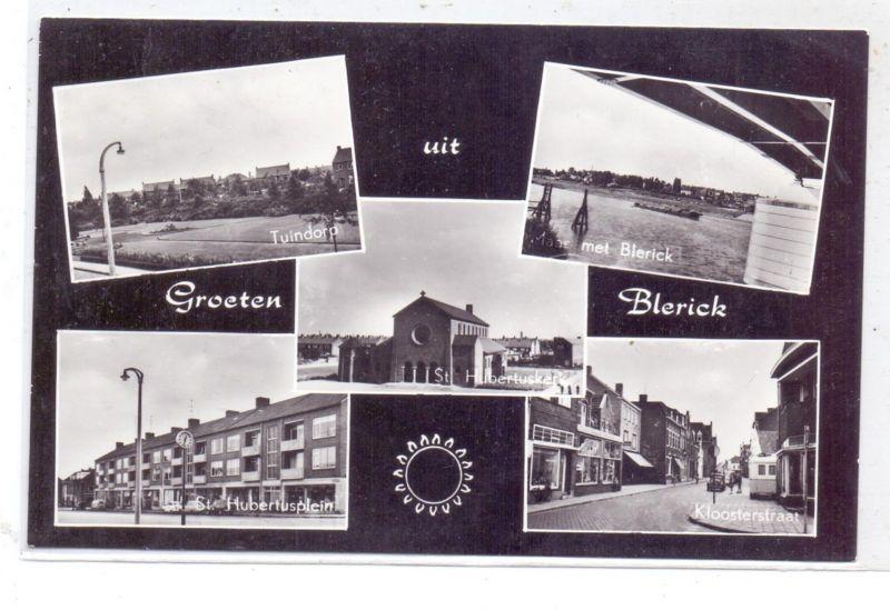 NL - LIMBURG - VENLO - BLERICK, Kloosterstraat, St. Hubertuskerk, St. Hubertusplein, Tuindorf...