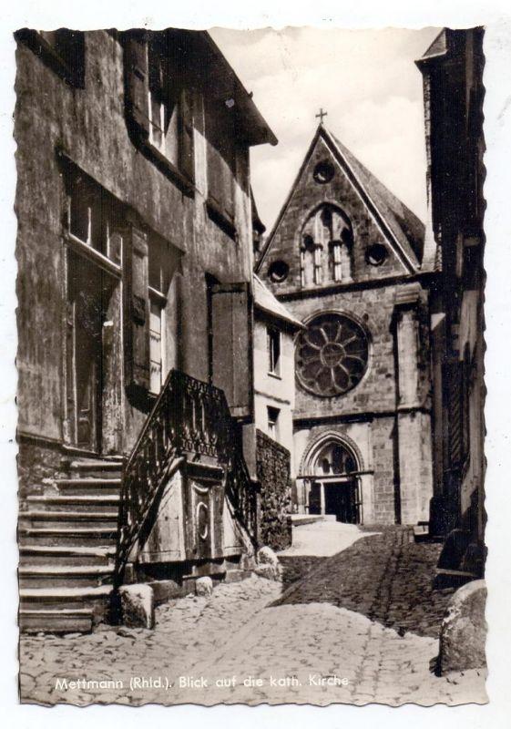 4020 METTMANN, Blick auf die katholische Kirche