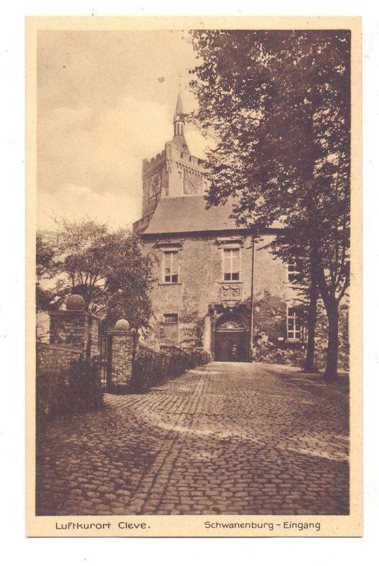 4190 KLEVE, Schwanenburg Eingang