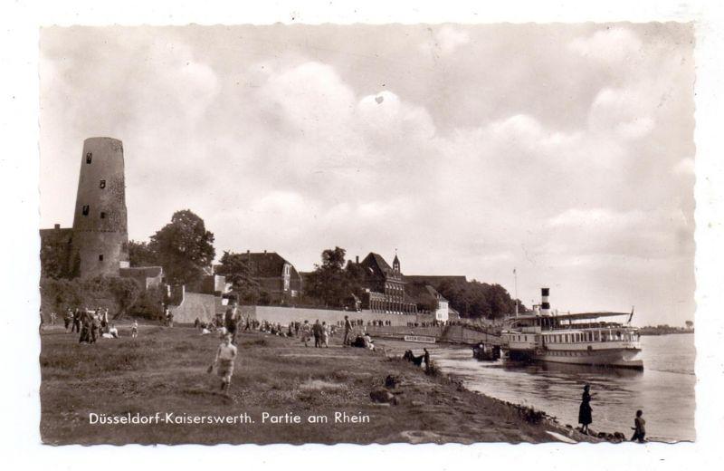 4000 DÜSSELDORF - KAISERSWERTH. Anleger der Köln-Düsseldorfer, 1965