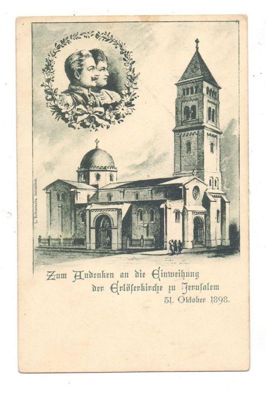 MONARCHIE - DEUTSCHLAND, Besuch des Kaiserpaares 1898 zur Einweihung der Erlöserkirche in Jerusalem