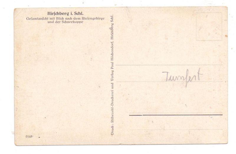 NIEDERSCHLESIEN - HIRSCHBERG / JELENA GORA, 3. Jugendtreffen  der Deutschen Turnerschaft, 1926, kl. Druckstelle 1