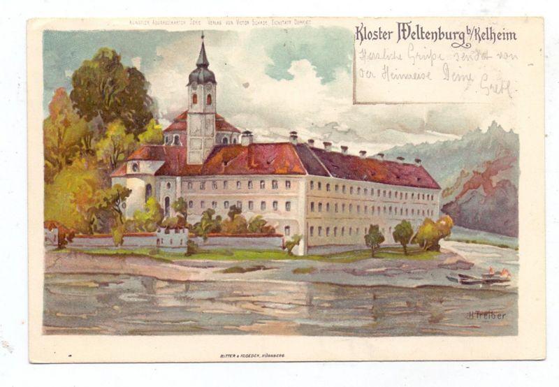 8420 KELHEIM - WELTENBURG, Kloster, 1907 0