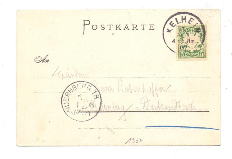 8420 KELHEIM - WELTENBURG, Kloster, 1907 1