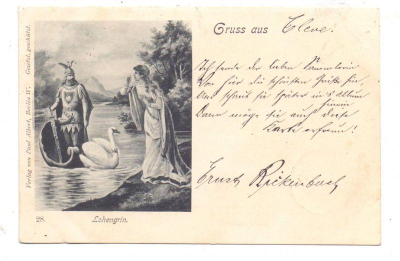 MUSIK - OPER - RICHARD WAGNER, Lohengrin, 1898