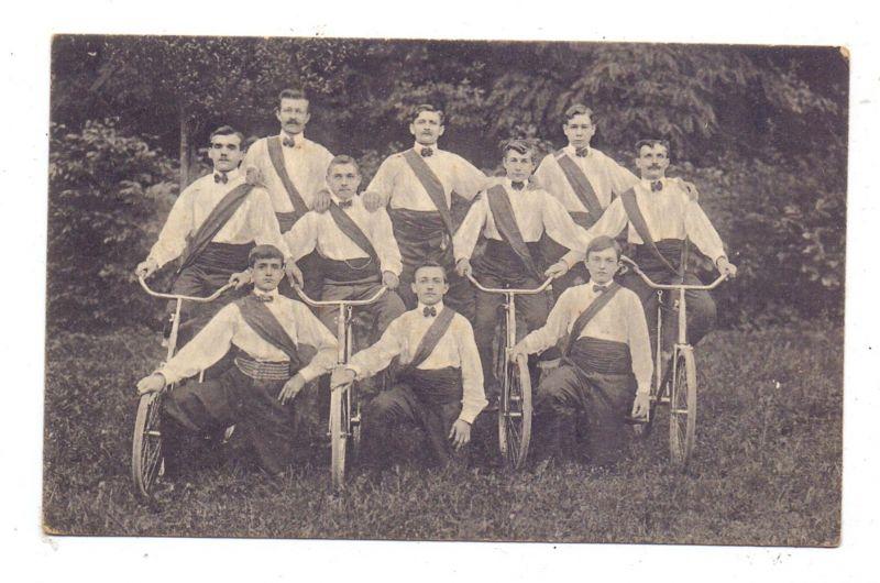 F 68100 MÜHLHAUSEN-DORNACH / MULHOUSE-DORNACH, Reigenmannschaft des Arbeiter-Radfahrer-Vereins, 1913
