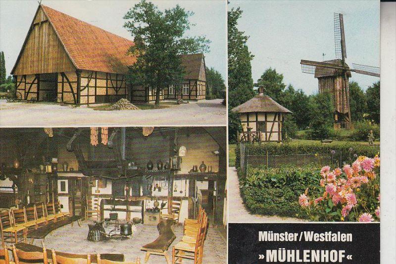 MÜHLE - WINDMÜHLE / Molen / Mill / Moulin - MÜNSTER Mühlenhof