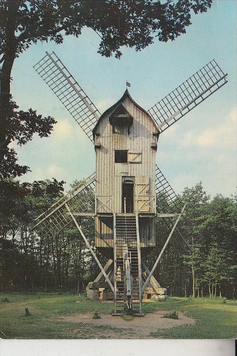 MÜHLE - WINDMÜHLE / Molen / Mill / Moulin - KOMMERN, Freilichtmuseum, Bockwindmühle aus Spiel / Jülich