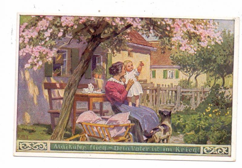 KÜNSTLER / ARTIST - PAUL HEY, Volksliederkarte Nr.38,