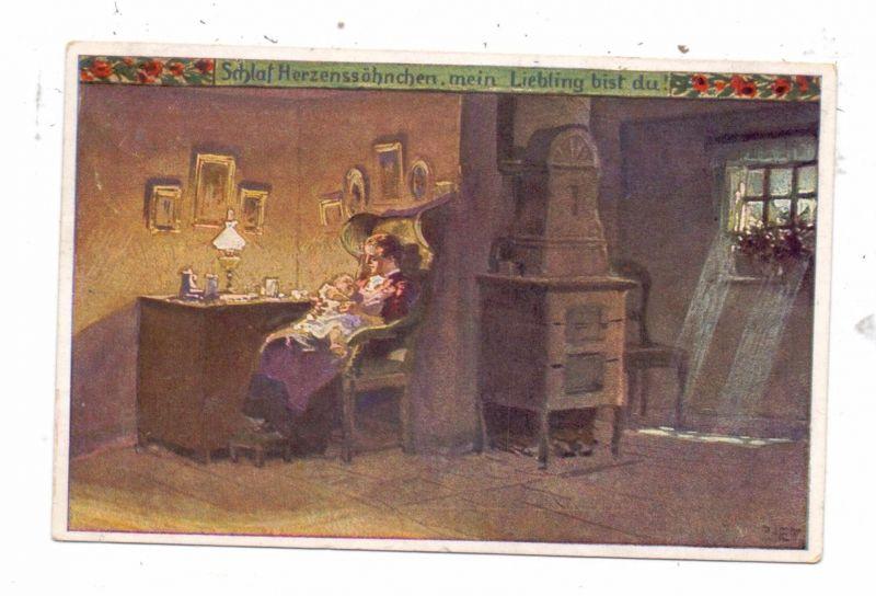 KÜNSTLER / ARTIST - PAUL HEY, Volksliederkarte Nr.50,