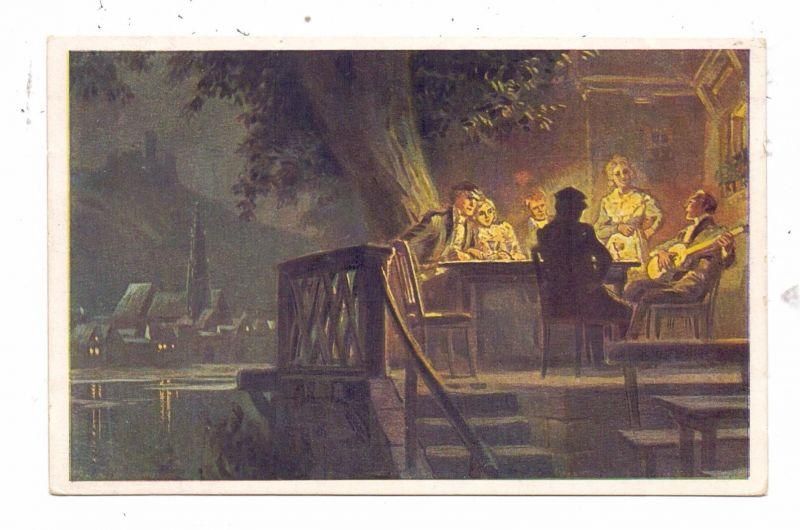 KÜNSTLER / ARTIST - PAUL HEY, Volksliederkarte Nr.32,