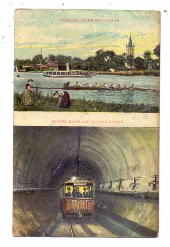 SPORT - RUDERN / Rowing, Berlin - Stralau, 1911