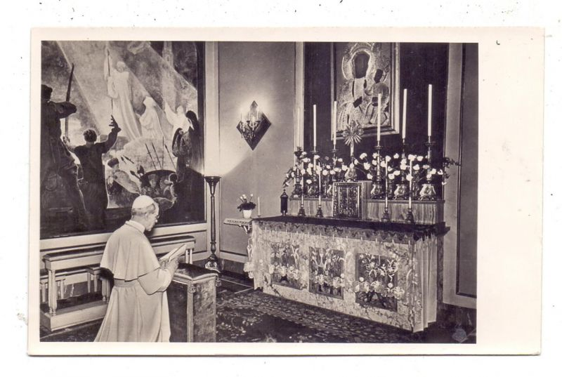 CHRISTENTUM - PÄPSTE, PIUS XII. Photo-AK 1958 0