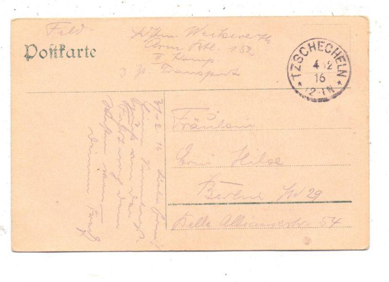 0-7543 LÜBBENAU - LEHDE, Gruss aus dem Spreewald, Halt gegen das Licht / Hold to light 1