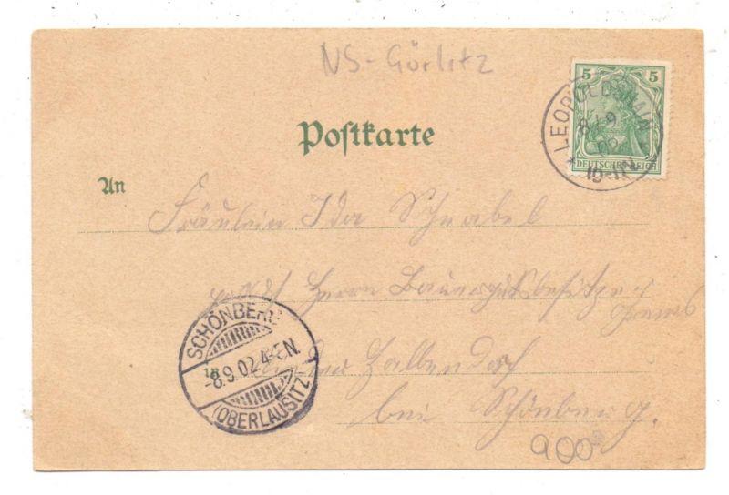 NIEDER-SCHLESIEN - TROITSCHENDORF / TROJCA, Lithographie, Gasthof zum Hohenzollern 1