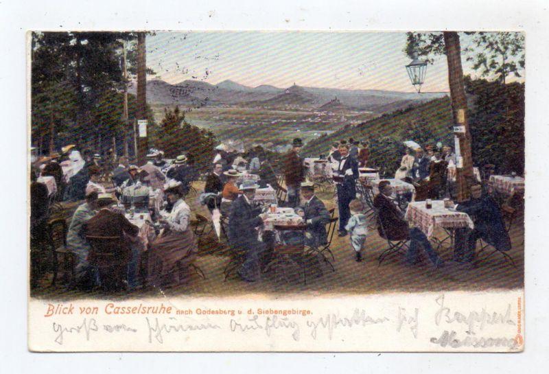 5300 BONN, Blick von der Casselsruhe, 1904