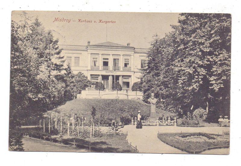 POMMERN - MISDROY / MIEDZYZDROJE, Kurhaus und Kurgarten, 1913