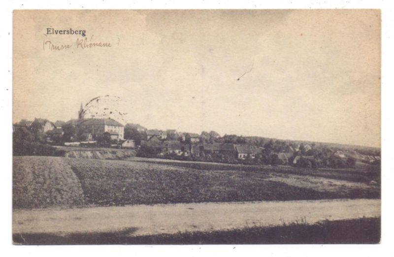 6683 SPIESEN - ELVERSBERG, Ortsansicht Elversberg, 1919