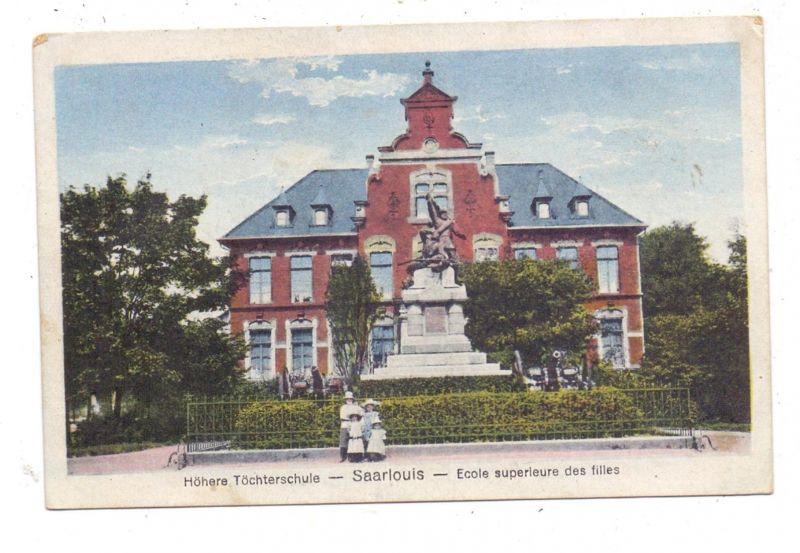 6630 SAARLOUIS, Höhere Töchterschule, 1923