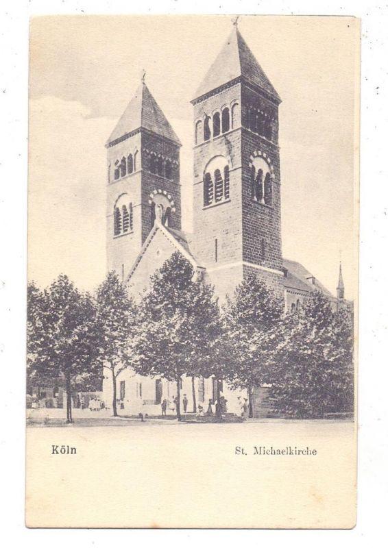 5000 KÖLN, Kirche, St. Michaelkirche, ca. 1905
