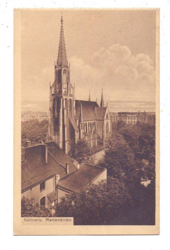 OBER-SCHLESIEN - KATTOWITZ / KATOWICE, Marienkirche