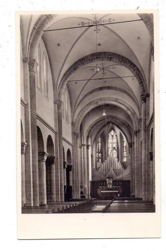 4047 DORMAGEN - KNECHTSTEDEN, Prämonstratenser-Abteikirche, Innenansicht