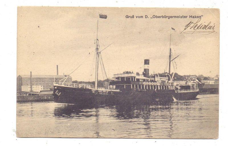 POMMERN - STETTIN / SZCZECIN, Fahrgastschiff
