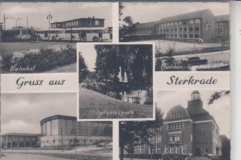 4200 OBERHAUSEN - STERKRADE, Gruss aus Sterkrade, Mehrbildkarte 1962