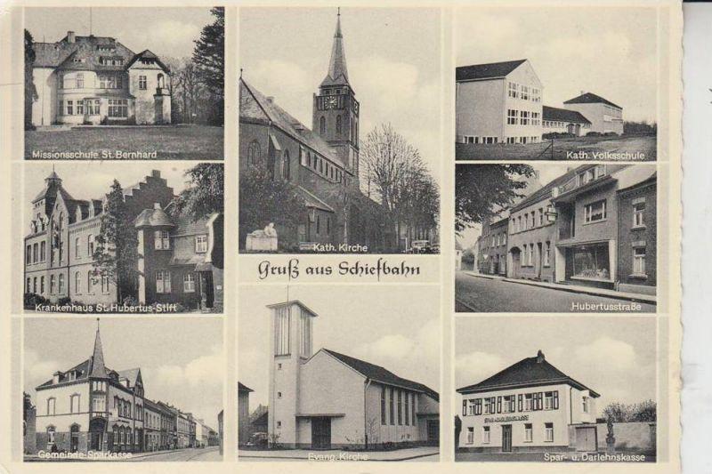 4156 WILLICH - SCHIEFBAHN, Mehrbildkarte 1959 0