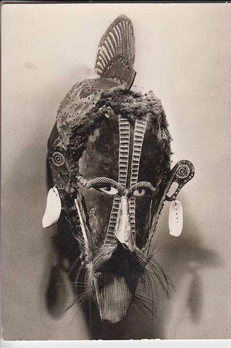 PAPUA NEW GUINEA - Torres-Strait-Islands, Mask Ethnic, Museum für Völkerkunde Berlin 0