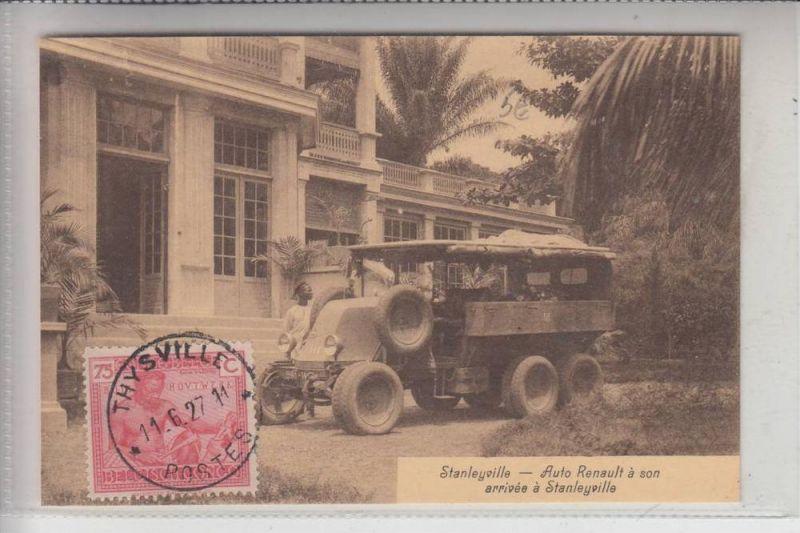 AUTO -LKW - RENAULT 1927, Kongo