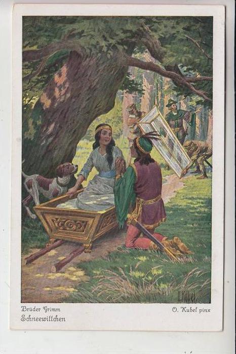 MÄRCHEN / Fairy Tales / Histoire / SCHNEEWITTCHEN - Künstler Otto Kubel / Uvachrom # 3862 Serie 147