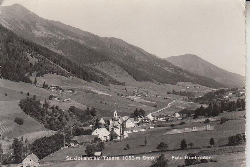 A 8765 St. JOHANN am Tauern, Ortsansicht, 1964