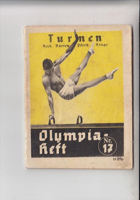 SPORT - TURNEN - OLYMPIAHEFT 1936, komplett, Heftung etwas lose