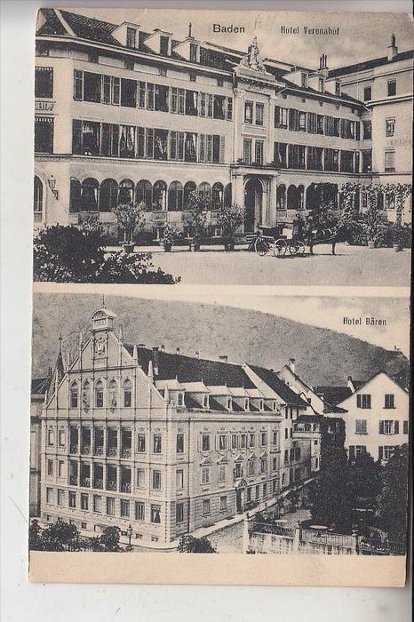 CH 5400 BADEN, Hotel Veronahof / Hotel Bären